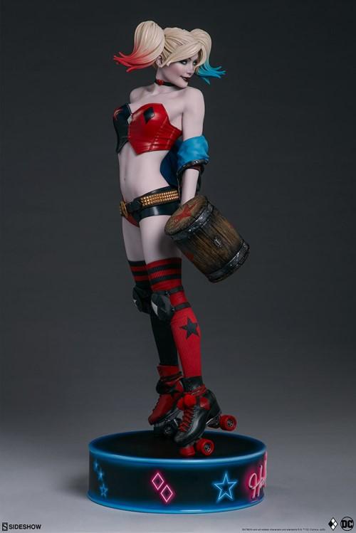 Sideshow 公布DC漫画版小丑女——哈莉奎茵 模玩 第6张