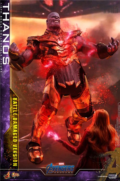 《复仇者联盟4: 终局之战》灭霸 (战损版) 1:6比例珍藏人偶 模玩 第2张