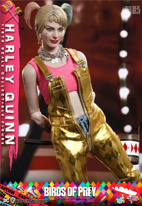 HotToys推出《猛禽小队和哈莉·奎茵》小丑女哈莉·奎茵1:6人偶 DC漫画 哈莉·奎茵 小丑女 Hot Toys HT 猛禽小队和哈莉·奎茵 模玩  第5张