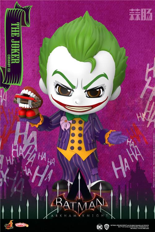 Hot Toys《蝙蝠侠:阿卡姆骑士》小丑与哈莉·奎茵COSBABY人偶 模玩 第1张