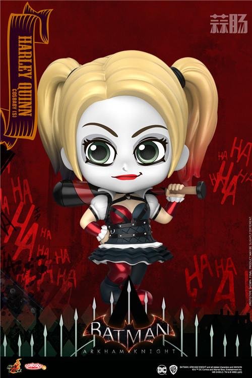 Hot Toys《蝙蝠侠:阿卡姆骑士》小丑与哈莉·奎茵COSBABY人偶 模玩 第2张