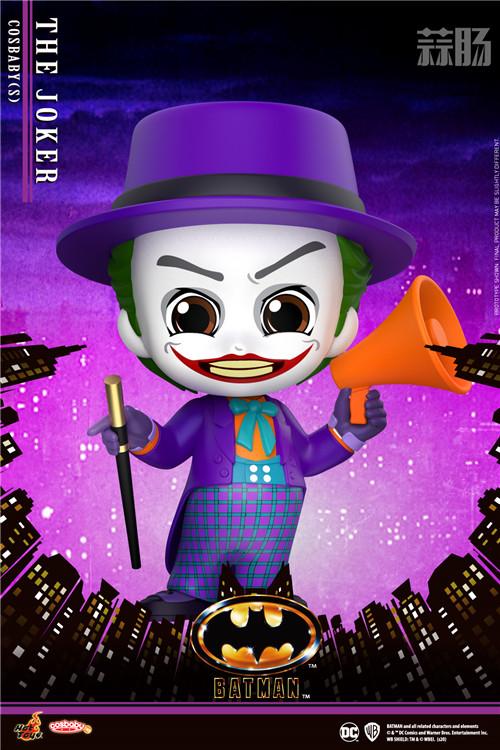 HotToys 1989《蝙蝠侠》蝙蝠侠丶小丑及蝙蝠车 COSBABY人偶 模玩 第5张