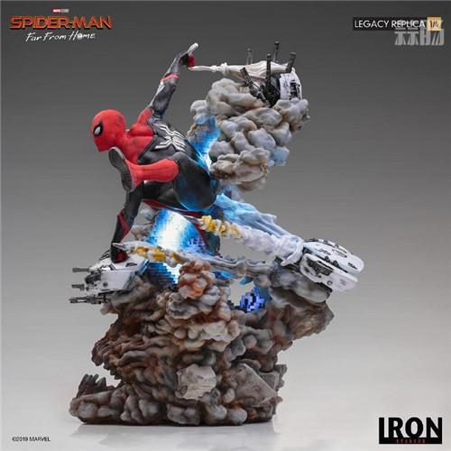 巴西大厂Iron Studios公开《蜘蛛侠:英雄远征》蜘蛛侠1:4雕像 模玩 第4张