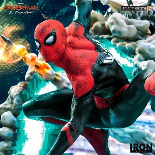 巴西大厂Iron Studios公开《蜘蛛侠:英雄远征》蜘蛛侠1:4雕像 模玩 第6张