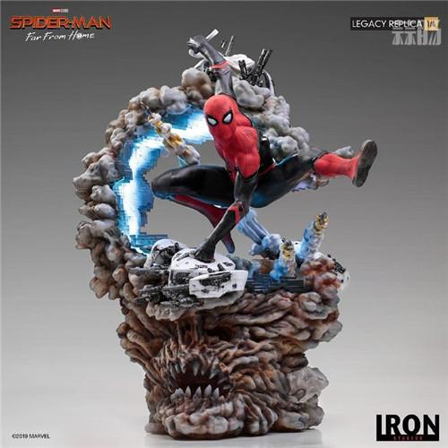 巴西大厂Iron Studios公开《蜘蛛侠:英雄远征》蜘蛛侠1:4雕像 模玩 第9张