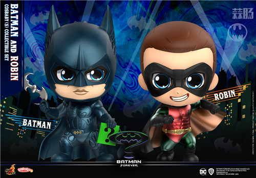 Hot Toys公开1995年版《永远的蝙蝠侠》正反角色首化身 COSBABY人偶 模玩 第1张