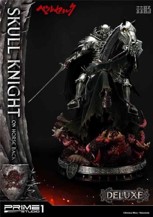 P1S推出《剑风传奇》骷髅骑士1:4骑马版雕像 模玩 第6张