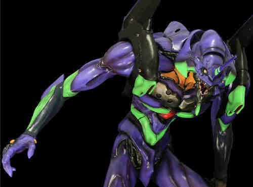 海洋堂ART MASTER 3D《EVA》初号机 松村忍版 5月发售