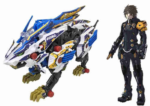 Takara Tomy公开索斯机械兽联动《梦幻之星OL2》ZW01荒野长牙狮