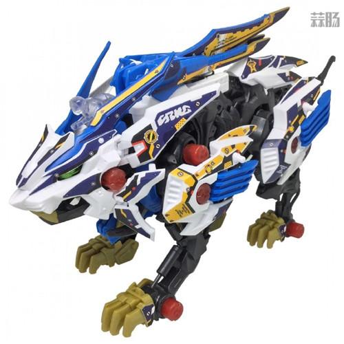 Takara Tomy公开索斯机械兽联动《梦幻之星OL2》ZW01荒野长牙狮 模玩 第1张
