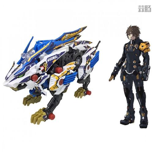 Takara Tomy公开索斯机械兽联动《梦幻之星OL2》ZW01荒野长牙狮 模玩 第2张