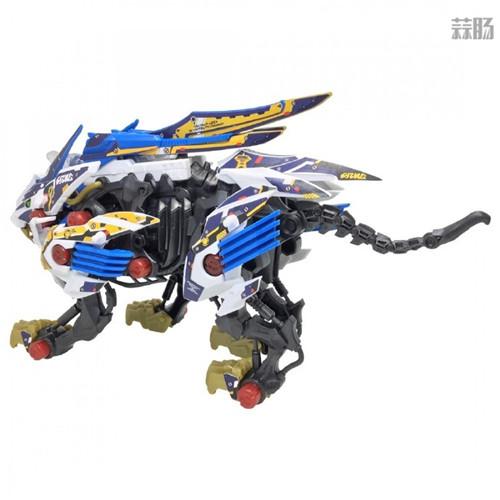 Takara Tomy公开索斯机械兽联动《梦幻之星OL2》ZW01荒野长牙狮 模玩 第5张