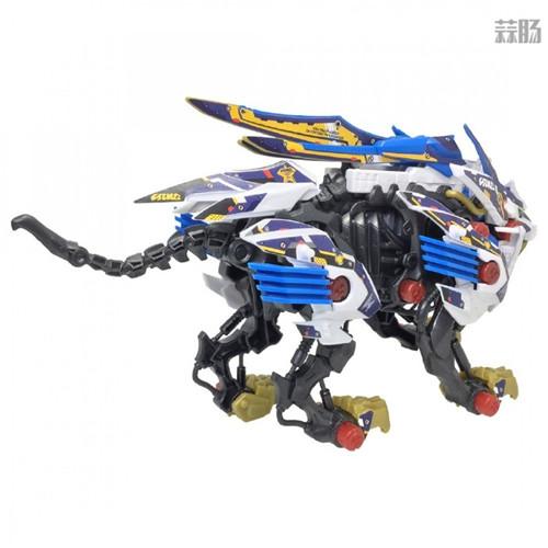 Takara Tomy公开索斯机械兽联动《梦幻之星OL2》ZW01荒野长牙狮 模玩 第6张