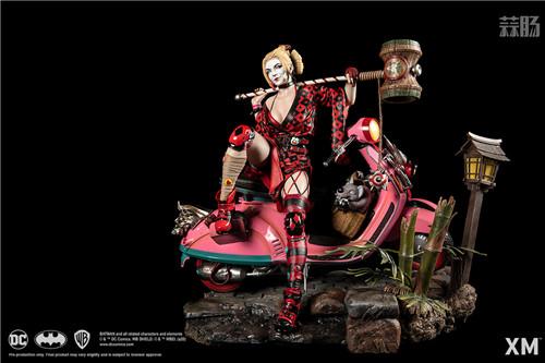 XM Studios推出武士系列哈莉·奎茵 1:4雕像 XM Studios DC漫画 哈莉·奎茵 小丑女 模玩  第1张