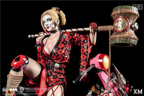XM Studios推出武士系列哈莉·奎茵 1:4雕像 XM Studios DC漫画 哈莉·奎茵 小丑女 模玩  第2张