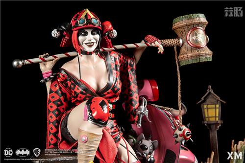 XM Studios推出武士系列哈莉·奎茵 1:4雕像 XM Studios DC漫画 哈莉·奎茵 小丑女 模玩  第7张