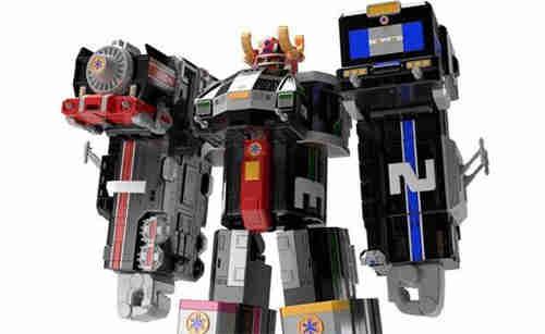 万代推出会员限定《救急战队GO GO V》组合机器人食玩