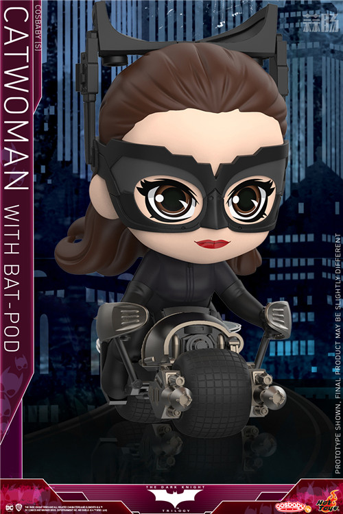 Hot Toys 推出《蝙蝠侠:黑暗骑士崛起》猫女及Batpod COSBABY (S) 人偶套装 模玩 第1张