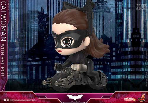 Hot Toys 推出《蝙蝠侠:黑暗骑士崛起》猫女及Batpod COSBABY (S) 人偶套装 模玩 第2张