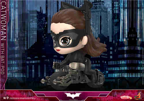Hot Toys 推出《蝙蝠侠:黑暗骑士崛起》猫女及Batpod COSBABY (S) 人偶套装