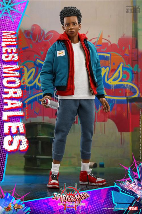 Hot Toys推出《蜘蛛侠:平行宇宙》迈尔斯·莫拉莱斯1:6比例珍藏人偶 模玩 第3张