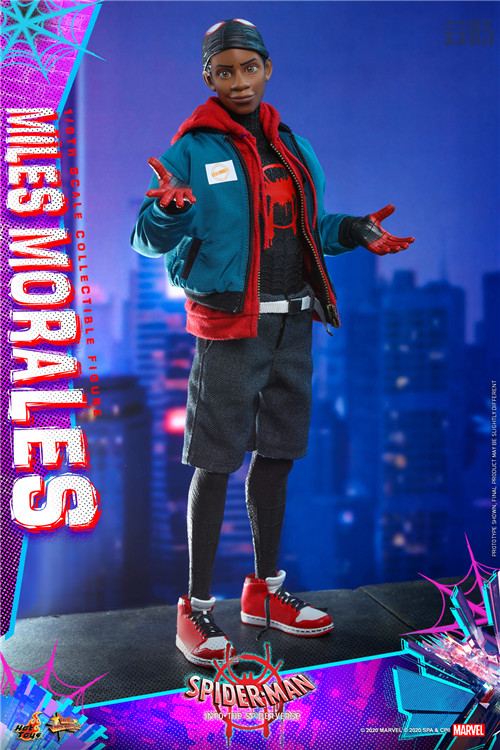 Hot Toys推出《蜘蛛侠:平行宇宙》迈尔斯·莫拉莱斯1:6比例珍藏人偶 模玩 第2张