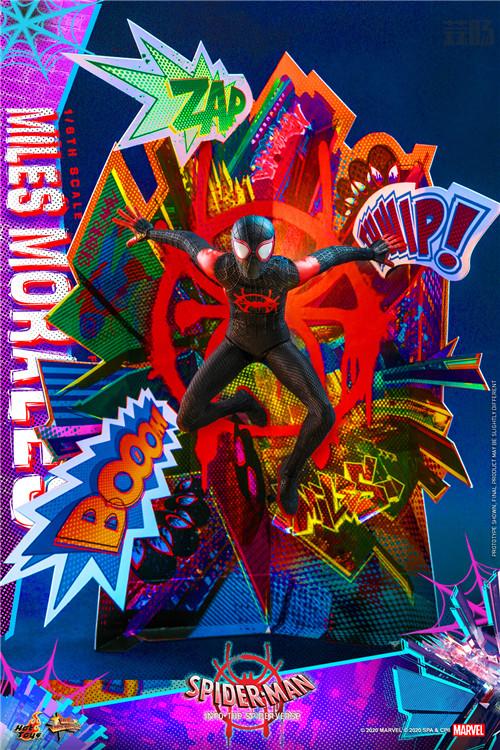 Hot Toys推出《蜘蛛侠:平行宇宙》迈尔斯·莫拉莱斯1:6比例珍藏人偶 模玩 第6张