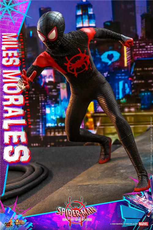 Hot Toys推出《蜘蛛侠:平行宇宙》迈尔斯·莫拉莱斯1:6比例珍藏人偶 模玩 第5张