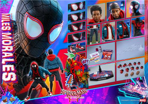 Hot Toys推出《蜘蛛侠:平行宇宙》迈尔斯·莫拉莱斯1:6比例珍藏人偶 模玩 第11张