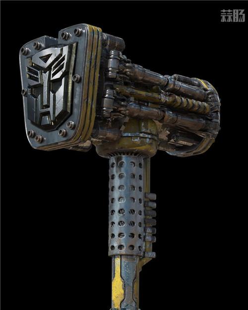 《变形金刚》概念设计师晒出《大黄蜂》设计废案大锤 变形金刚 第3张