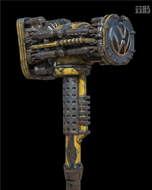 《变形金刚》概念设计师晒出《大黄蜂》设计废案大锤 变形金刚 第4张