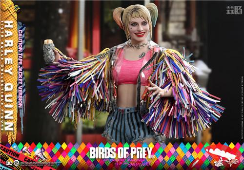 Hot Toys推出《猛禽小队和哈莉·奎茵》哈莉·奎茵1:6比例珍藏人偶 模玩 第3张
