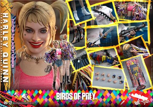 Hot Toys推出《猛禽小队和哈莉·奎茵》哈莉·奎茵1:6比例珍藏人偶 模玩 第8张