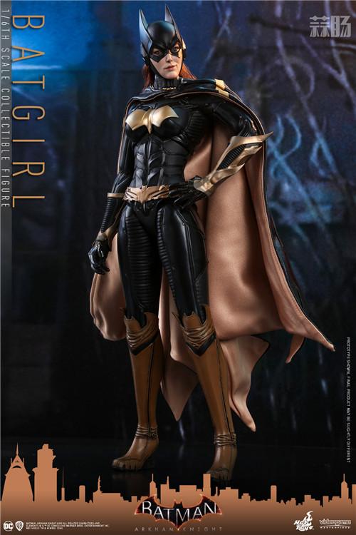 Hot Toys推出游戏《蝙蝠侠:阿卡姆骑士》蝙蝠女1:6人偶 模玩 第2张