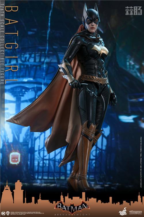 Hot Toys推出游戏《蝙蝠侠:阿卡姆骑士》蝙蝠女1:6人偶 模玩 第1张