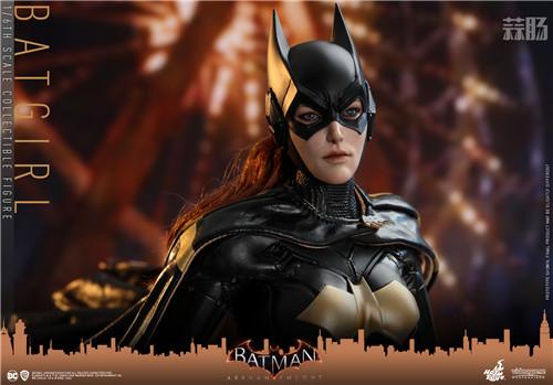 Hot Toys推出游戏《蝙蝠侠:阿卡姆骑士》蝙蝠女1:6人偶 模玩 第5张