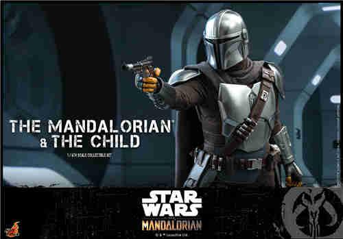 Hot Toys推出《曼达洛人》曼达洛人及The Child 1:6比例珍藏人偶套装