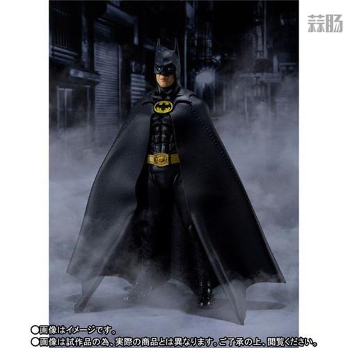 万代推出SHF1989年电影版蝙蝠侠 DC漫画 蝙蝠侠 SHF 万代 模玩  第2张