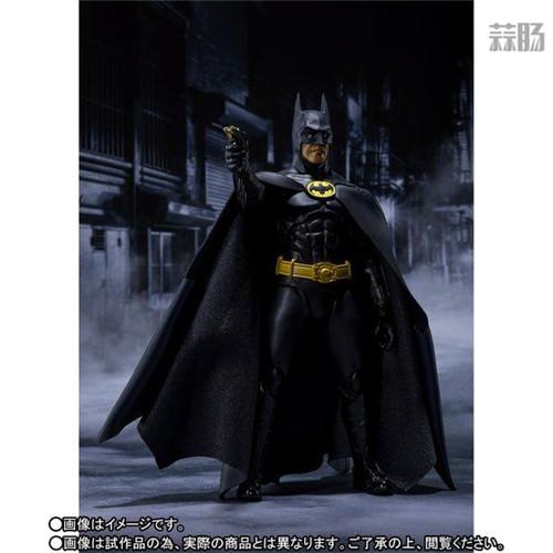 万代推出SHF1989年电影版蝙蝠侠 DC漫画 蝙蝠侠 SHF 万代 模玩  第6张