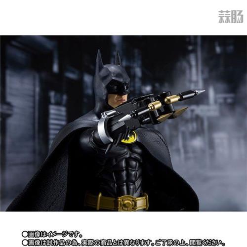 万代推出SHF1989年电影版蝙蝠侠 模玩 第5张
