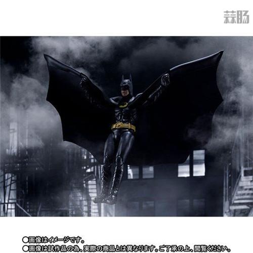 万代推出SHF1989年电影版蝙蝠侠 DC漫画 蝙蝠侠 SHF 万代 模玩  第4张