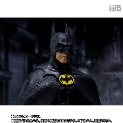 万代推出SHF1989年电影版蝙蝠侠 模玩 第7张