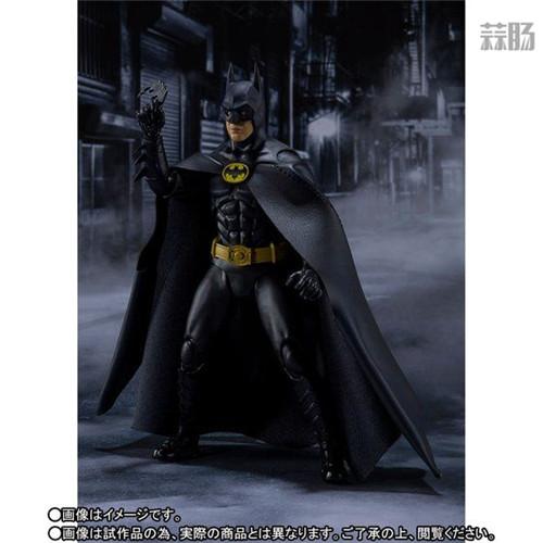 万代推出SHF1989年电影版蝙蝠侠 DC漫画 蝙蝠侠 SHF 万代 模玩  第3张