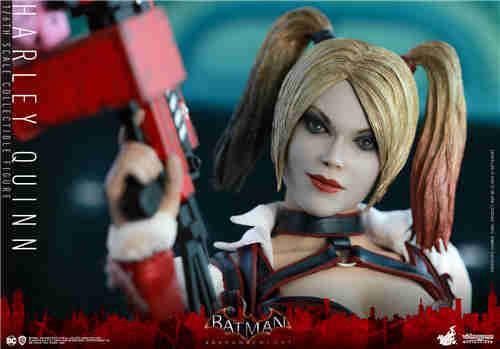 Hot Toys推出《蝙蝠侠:阿卡姆骑士》小丑女哈莉·奎茵1:6人偶