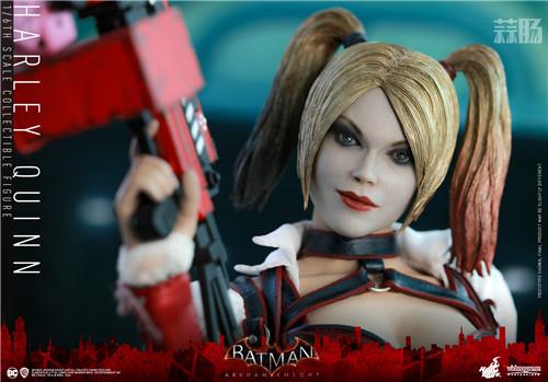 Hot Toys推出《蝙蝠侠:阿卡姆骑士》小丑女哈莉·奎茵1:6人偶 哈莉·奎茵 小丑女 DC漫画 蝙蝠侠:阿卡姆骑士 HT Hot Toys 模玩  第3张