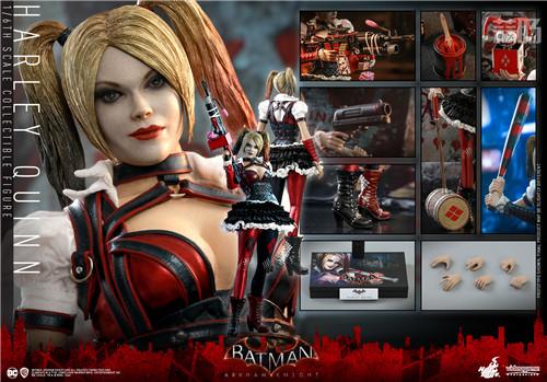 Hot Toys推出《蝙蝠侠:阿卡姆骑士》小丑女哈莉·奎茵1:6人偶 模玩 第9张