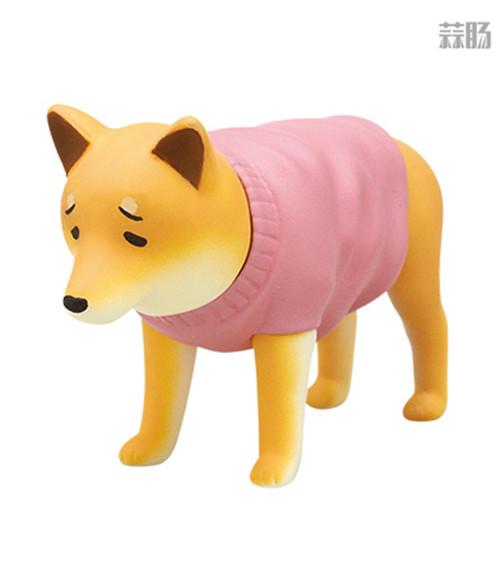 """日厂Kitan Club推出六款""""垂头丧气脸""""的柴犬扭蛋惹人爱 柴犬 扭蛋 奇谭俱乐部 Kitan Club 模玩  第3张"""