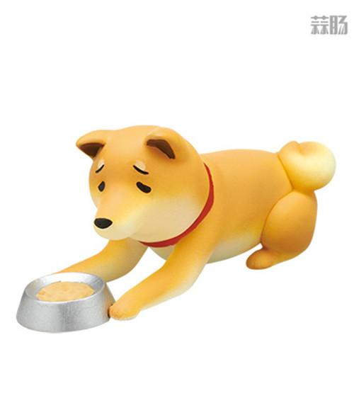 """日厂Kitan Club推出六款""""垂头丧气脸""""的柴犬扭蛋惹人爱 柴犬 扭蛋 奇谭俱乐部 Kitan Club 模玩  第6张"""