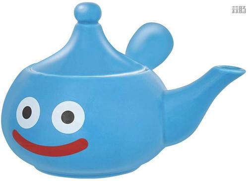 SE推出《勇者斗恶龙》史莱姆茶壶周边 造型可爱 模玩 第1张