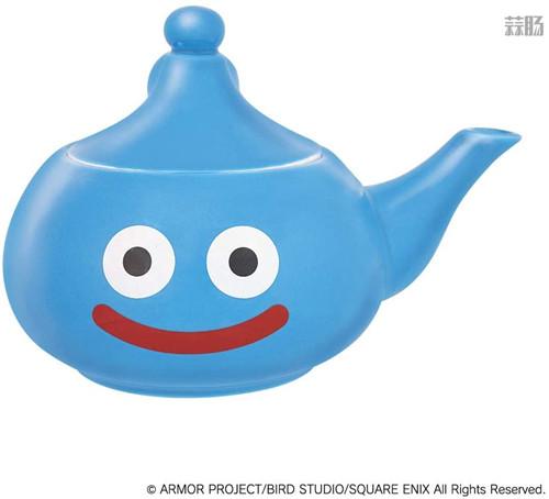 SE推出《勇者斗恶龙》史莱姆茶壶周边 造型可爱 模玩 第2张